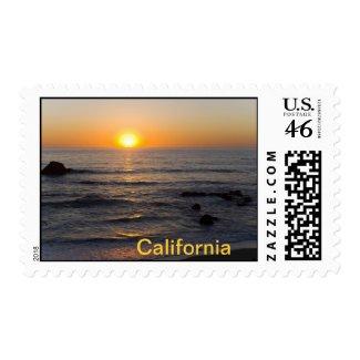 California Stamp 4 stamp