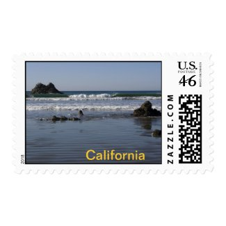 California Stamp 5 stamp
