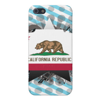 California Star Cases For iPhone 5