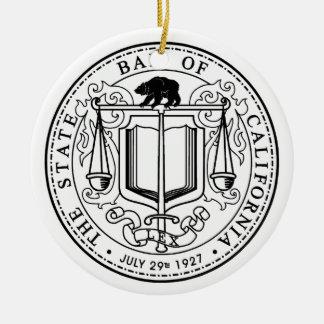 California State Bar Christmas Ornament