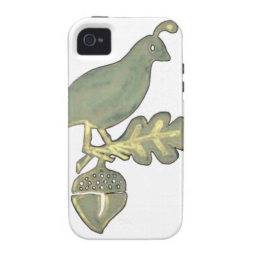 California State Bird Vibe iPhone 4 Cases