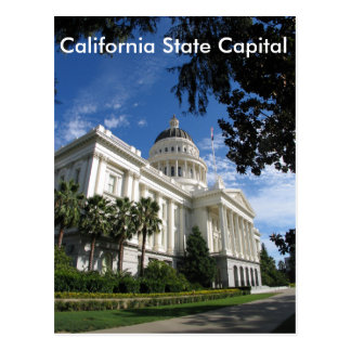 California State Capital Postcard