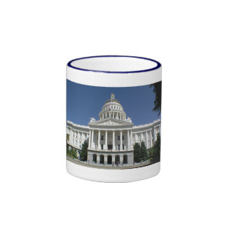 California State Capitol Building Ringer Mug
