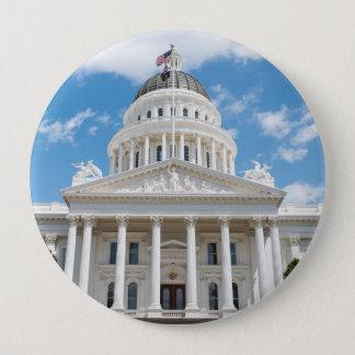 California State Capitol in Sacramento Pinback Button