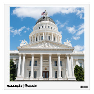 California State Capitol in Sacramento Wall Decal