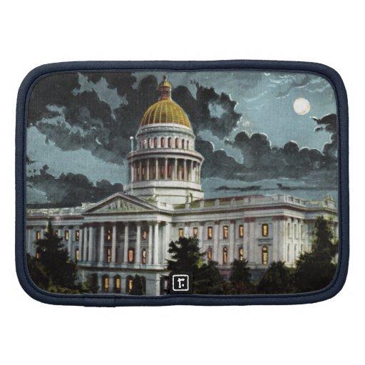 California State Capitol Moonlight Folio Planners