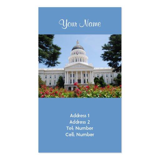 California State Capitol Sacramento Business Cards
