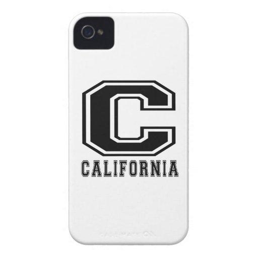 California State Designs iPhone 4 Cases