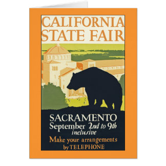 California State Fair Card