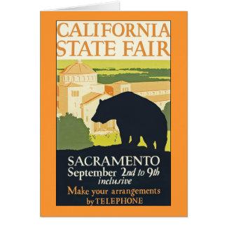 California State Fair Card