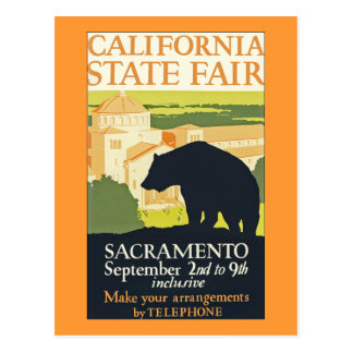 California State Fair Postcard