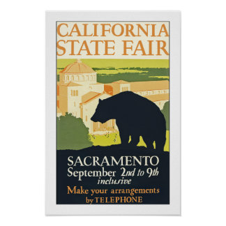 California State Fair Poster