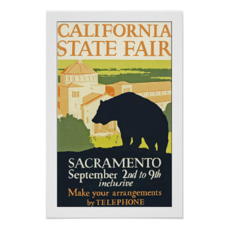 California State Fair Poster
