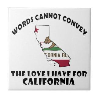 California state fdesigns tile