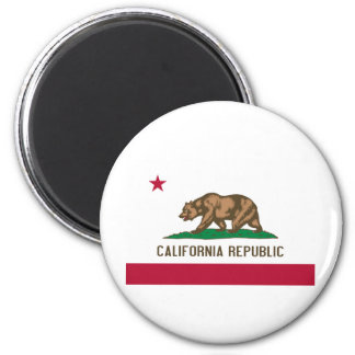 California State Flag 2 Inch Round Magnet
