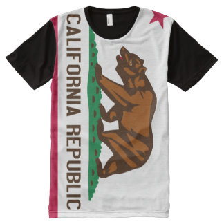 California State Flag All-Over Print T-shirt