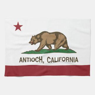 California State Flag Antioch Hand Towel