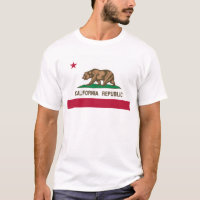 California State Flag Basic T-Shirt