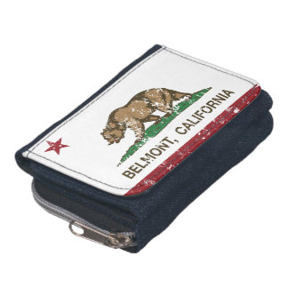 California State Flag Belmont Wallets