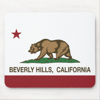 California State Flag Beverly Hills Mouse Pad