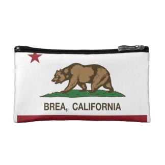 California State Flag Brea Makeup Bag