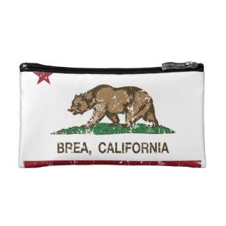 California State Flag Brea Cosmetic Bags