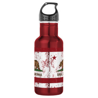 California State Flag Brea Water Bottle