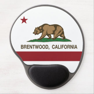 California State Flag Brentwood Gel Mousepads