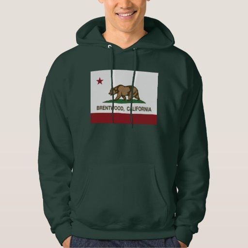 California State Flag Brentwood Hoodie