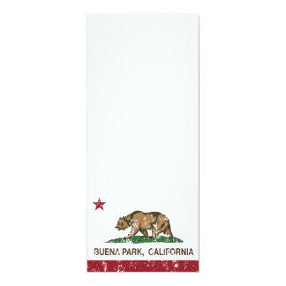 California State Flag Buena Park Personalized Invite