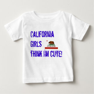 california-state-flag, California Girls think I... T Shirts