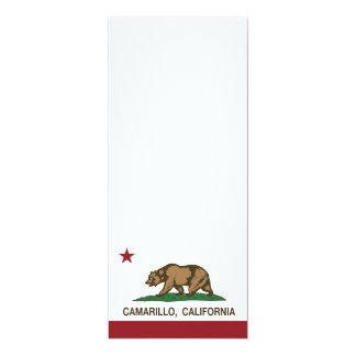 California State Flag Camarillo Card