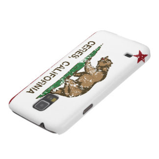 California State Flag Ceres Galaxy S5 Cover