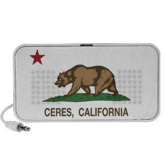 California State Flag Ceres Speaker