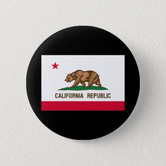 California State Flag Design Pinback Button