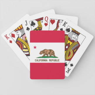 California State Flag Design Playing Cards