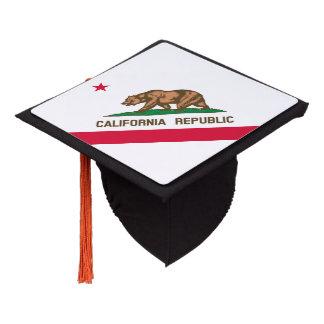 California State Flag Design Graduation Cap Topper