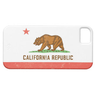 California State Flag Distressed iPhone 5 Covers