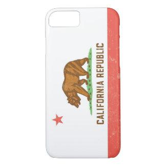California State Flag Distressed iPhone 8/7 Case