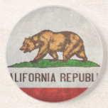 California State Flag Drink Coaster
