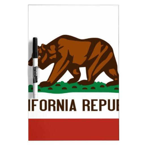 California State Flag Dry-Erase Whiteboards