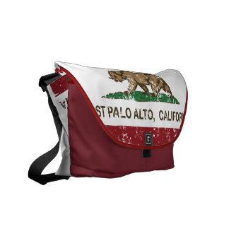 California State Flag East Palo Alto Courier Bag