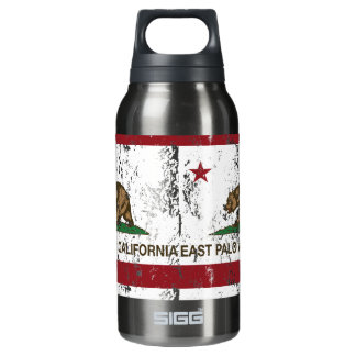 California State Flag East Palo Alto Insulated Water Bottle