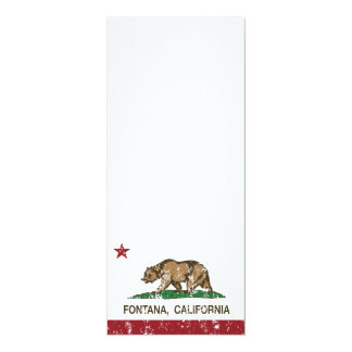 California State Flag Fontana Card