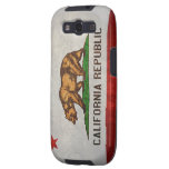 California State Flag Galaxy SIII Cases