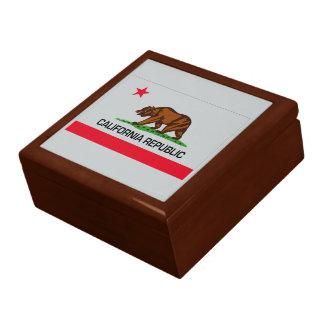 California State Flag Trinket Boxes