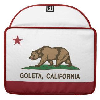 California State Flag Goleta MacBook Pro Sleeve