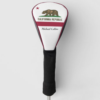 California State Flag Golf Head Cover
