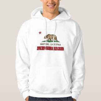 California State Flag Hanford Hooded Pullover