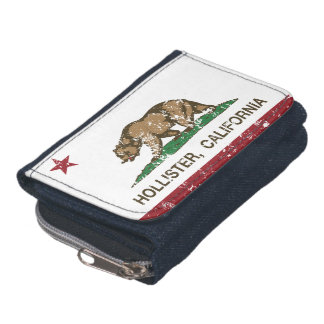 California State Flag Hollister Wallet